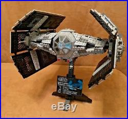 10175 Lego COMPLETE Star Wars Vader's Tie Advanced fighter UCS ship ultimate