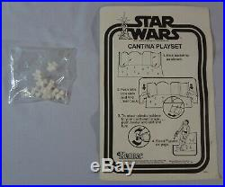1978 Kenner Sears Star Wars CANTINA ADVENTURE SET with Box BLUE SNAGGLETOOTH L@@K
