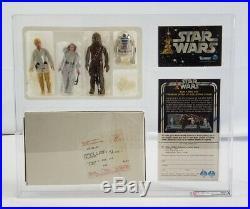 1978 Kenner Star Wars Mailer Kit Early Bird Set Telescoping Saber // AFA 80+ NM