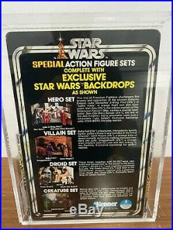 1978 Vintage Kenner Star Wars 3 Pack Series 2 Hero Set AFA 85 B85 W90 F85