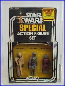 1979 Kenner Star Wars 3-PAck Series 2 Villain Set AFA 75 EX+/NM #14933960