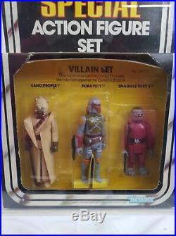 1979 Kenner Star Wars 3-PAck Series 2 Villain Set AFA 75 EX+/NM #14933960