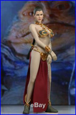 1/6 Princess Leia Organa Star Wars Slave Figure Doll Full Set USA IN STOCK