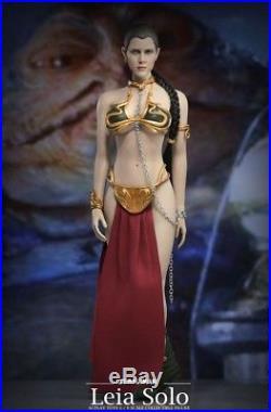 1/6 Scale Star Wars Princess Leia Organa Slave Seamless Figure Full Set USA