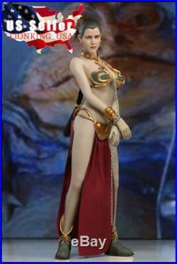 1/6 Star Wars Princess Leia Organa Slave Seamless Figure Full Set USA IN STOCK