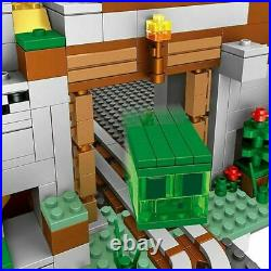 21137 2688pcs The Mountain Cave My worlds Building Block Model Set for Children