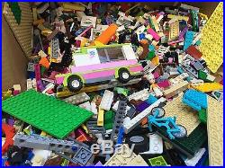 250 lbs pounds LEGO bulk lot some minifigs. Pcs from Star Wars and other sets
