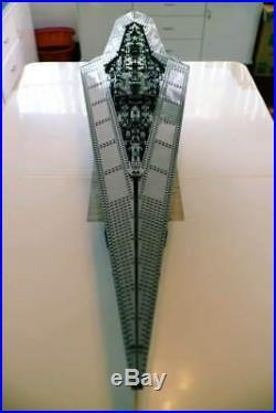 3208pcs star BRAND New Custom Space Wars UCS Mega Destroyer 10221 + Instruction