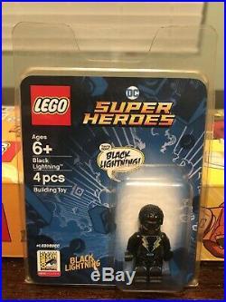 8 Items! 2019 2018 SDCC Lego Batman Captain Marvel Star Wars Aquaman Spider-Man
