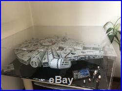 Acrylic Display Case for Lego Star Wars Millennium Falcon 75192