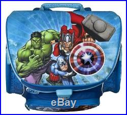 Avengers Schulranzen Set 7tlg. Scooli Schultüte blau Marvel Helden HULK THOR