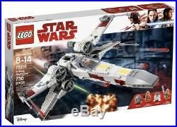 BRAND NEW Lego Star Wars Set #75218 X-Wing Starfighter 730 Pieces RETIRED