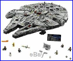 BRAND NEW Millennium Falcon UCS 7541 Pieces Set 75192 + Instruction