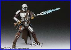 Bandai S. H. Figuarts Star Wars The Mandalorian (Beskar Armor)& The Child Set PSL