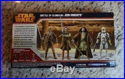 Battle of Geonosis JEDI KNIGHTS Star Wars Battle Packs TRU Exclusive SET #1