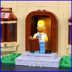 Brand New Custom The Simpsons House Compitible 71006 UA Set Christmas Gift