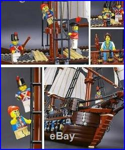 Brand New Imperial Flagship Pirates 10210 UA Set Free Shipping