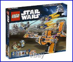 Brand New LEGO Star Wars 7962 Anakin Skywalker and Sebulba's Podracers Sealed