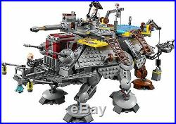 Brand New, Sealed Lego Captain Rex's At-te 75157 Star Wars Set Free Shipping