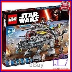 Brand new LEGO Star Wars Captain Rex's AT-TE 75157 building kit factory sealed