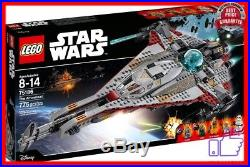 Brand new LEGO Star Wars The Arrowhead 75186 Building Kit factory sealed