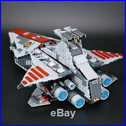 Building Blocks Sets Star Wars The Venator Republic Cruiser Ship Toys for Kids