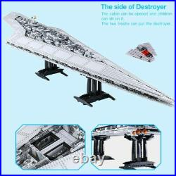 Building Blocks Sets Star Wars UCS Super Star Destroyer Ship Model Toys for Kids