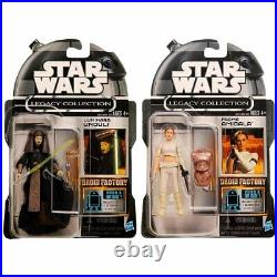 CANCELLED Star Wars Legacy Collection Build a Droid Factory Set of 12 Figures