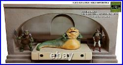 Custom 112 Deluxe Throne Diorama Set for 6 Black Series Jabba the Hutt
