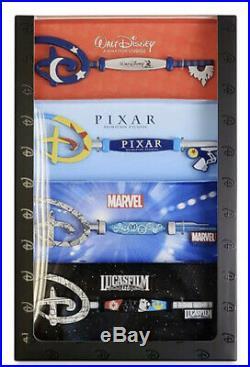 Disney Animation Studios Key Set Star Wars Pixar Marvel CONFIRMED ORDER LE