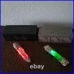Disney Parks Star Wars Galaxy's Edge Green & Red Kyber Crystal Light Up Set