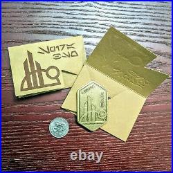 Disneyland 2019 Star Wars Galaxy's Edge Batuuan Spira Metal Gift Card SET OF 2