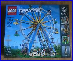 FACTORY-SEALED LEGO CREATOR Ferris Wheel # 10247 BRAND NEW Retired March 2019