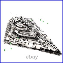 First Order Star Destroyer Building Blocks Compatible With Star Wars Bricks