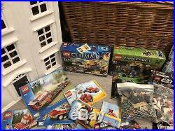 HUGE Joblot Bundle LEGO Minifigures Assorted City Chima Star Wars Creator 10KG