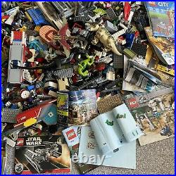 HUGE LEGO Assorted Job Lot Jurassic Star Wars City Creator Used NO FIGS 16 KG