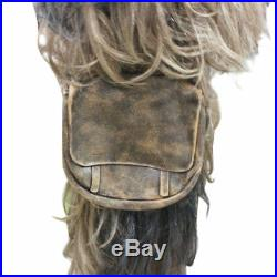 Halloween Star Wars Chewbacca Fancy Dress Costume Adult Chewie Full Set Costume