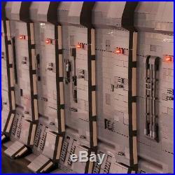 Hangar Star Wars Star Docking Bay 327 MOC per UCS Falcon 05132 75192 7780 pz