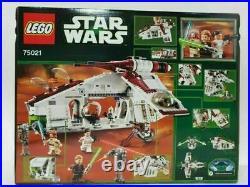 Hot Lego Star Wars Set 75021 Republic Gunship brand New