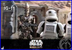 Hot Toys 1/6 Mandalorian IG-11 Robot Action Figure Set TMS008 Toy Collection
