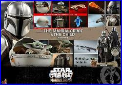 Hot Toys 1/6 scale Mandalorian and The Child (Deluxe Version) Set TMS015