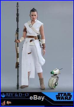 Hot Toys 1/6th scale Rey and D-O Set Star Wars The Rise of Skywalker MMS559