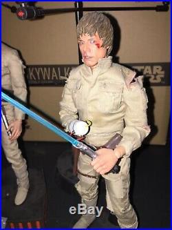 Hot Toys DX07 DX 07 Star Wars Luke Skywalker (Bespin Outfit) Set Mark Hamill US
