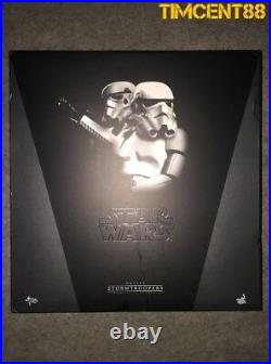 Hot Toys MMS268 Star Wars Hope Stormtrooper Stormtroopers Set Box Imperfect New