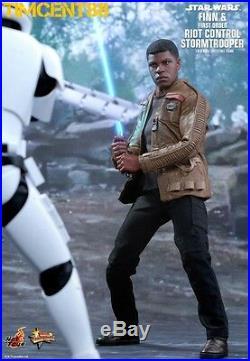 Hot Toys MMS346 Star Wars Finn First Order Riot Control Stormtrooper set N