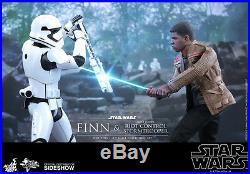 Hot Toys Star Wars Finn & Riot Control Stormtrooper 16 Figure Set Sealed