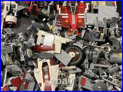 Huge LEGO Star Wars Parts Lot Of 12+ Lbs Pounds Ships Tie Fight + More