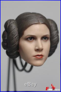 IN STOCK 1/6 Princess Leia Head Sculpt clothes accessories set for Star Wars