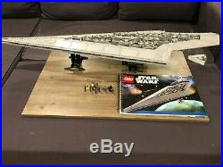 LEGO 10221 Star Wars Super Star Destroyer Complete withMinifigs and Manual