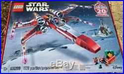 LEGO 4002019 STAR WARS X-wing Emloyees Christmas gift limited set